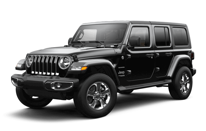 Jeep® Wrangler 2021 Unlimited Sahara - Noir