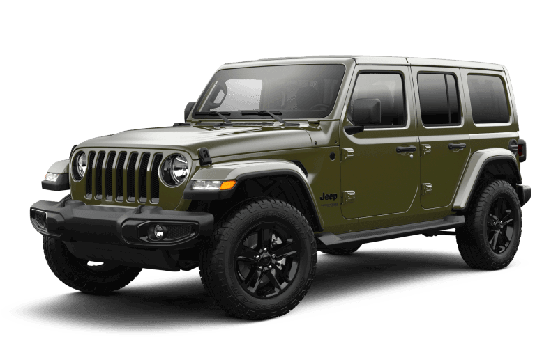 2021 Jeep® Wrangler Unlimited Sahara Altitude - Sarge Green
