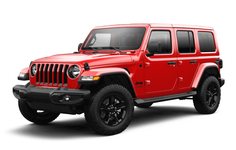 2021 Jeep® Wrangler Unlimited Sahara Altitude - Firecracker Red