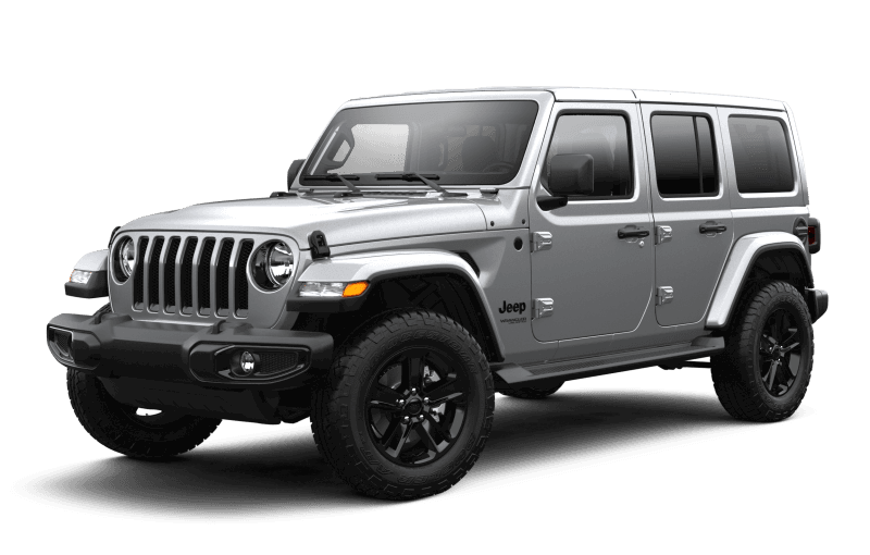 2021 Jeep® Wrangler Unlimited Sahara Altitude - Billet Metallic