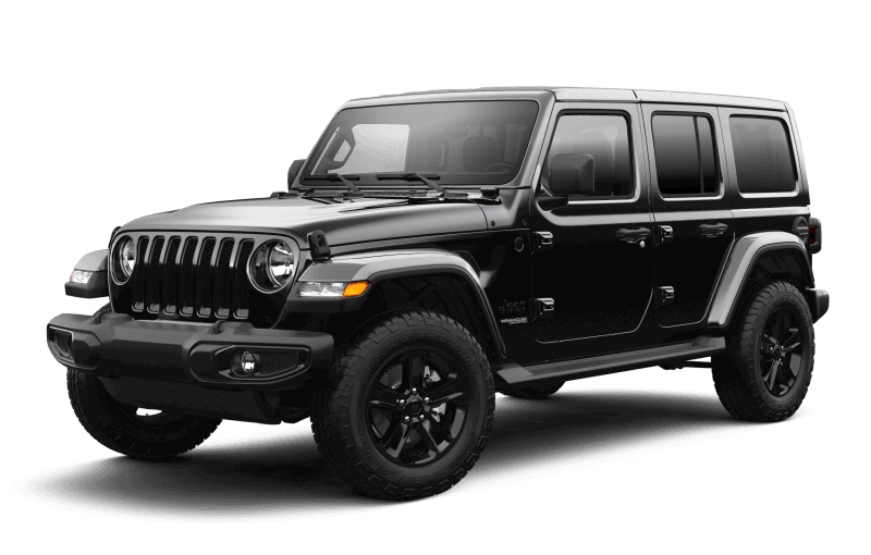Jeep® Wrangler 2021 Unlimited Sahara Altitude - Noir