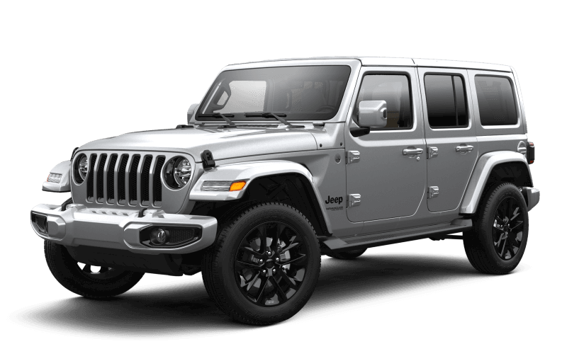 Jeep® Wrangler 2021 Unlimited Sahara High Altitude - Gris acier métallisé
