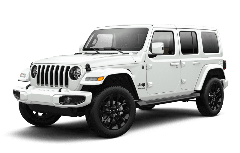 Jeep® Wrangler 2021 Unlimited Sahara High Altitude - Blanc éclatant