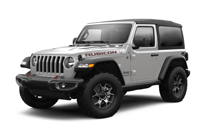 Jeep® Wrangler 2021 Rubicon - Gris pastenague