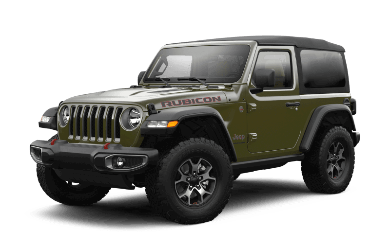 2021 Jeep® Wrangler Rubicon - Sarge Green