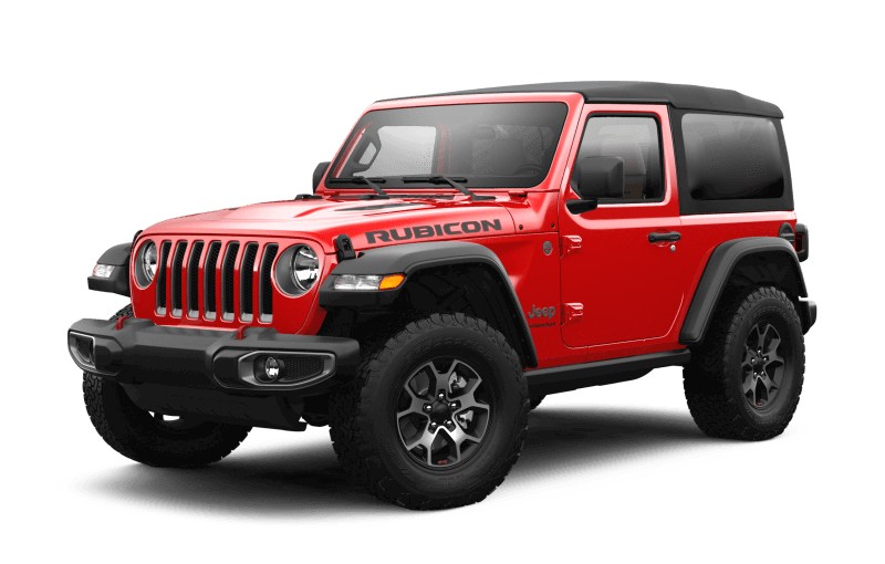 Jeep® Wrangler 2021 Rubicon - Rouge pétard