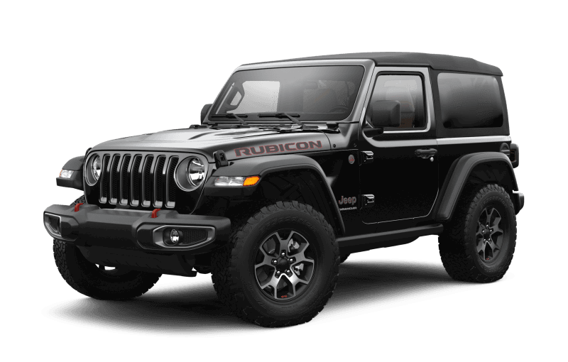 2021 Jeep® Wrangler Rubicon - Black