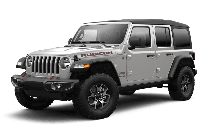 Jeep® Wrangler 2021 Unlimited Rubicon - Gris pastenague