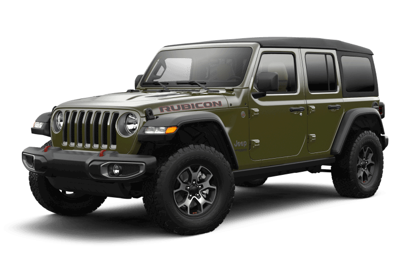 2021 Jeep® Wrangler Unlimited Rubicon - Sarge Green