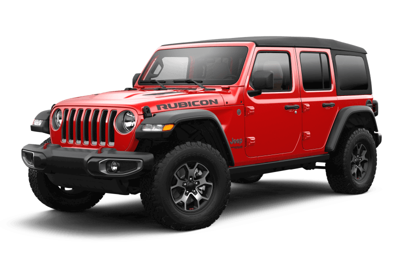 Jeep® Wrangler 2021 Unlimited Rubicon - Rouge pétard