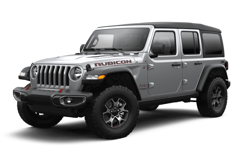 2021 Jeep® Wrangler Unlimited Rubicon - Billet Metallic
