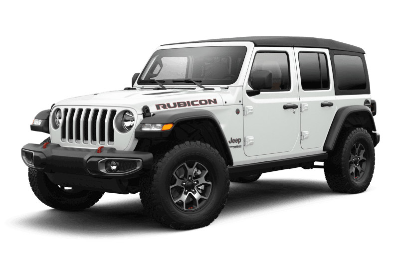 Jeep® Wrangler 2021 Unlimited Rubicon - Blanc éclatant