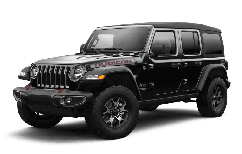 Jeep® Wrangler 2021 Unlimited Rubicon - Noir