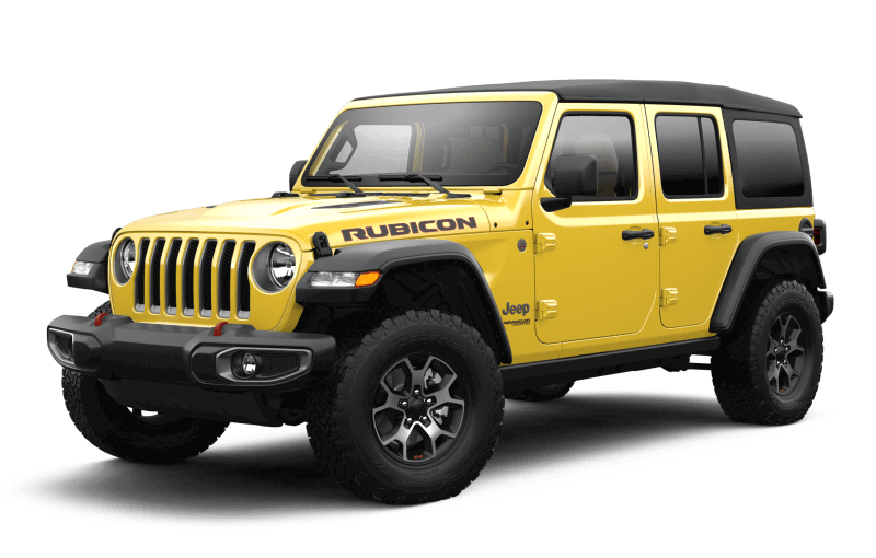 Jeep® Wrangler 2021 Unlimited Rubicon - HellaYella