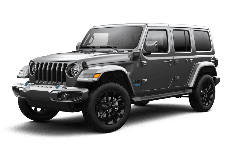 2021 Jeep® Wrangler 4xe Unlimited Sahara High Altitude 4xe - Granite Crystal
