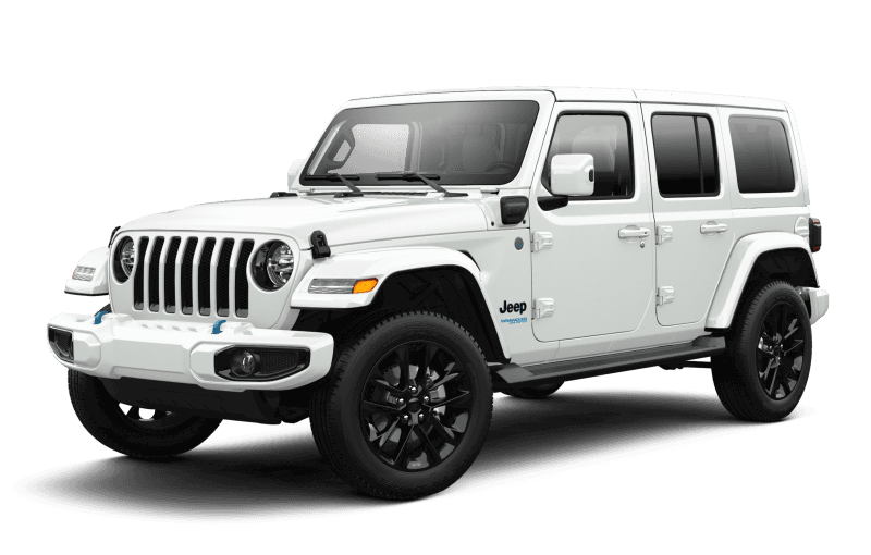 Jeep® Wrangler 4xe 2021 Unlimited Sahara High Altitude - Blanc éclatant