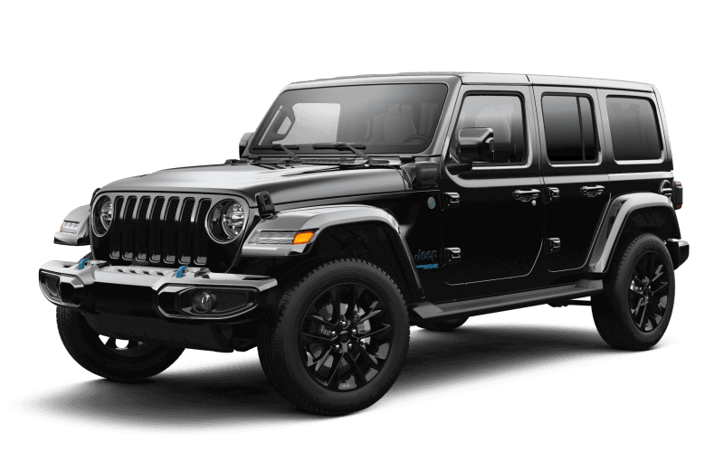Jeep® Wrangler 4xe 2021 Unlimited Sahara High Altitude - Noir