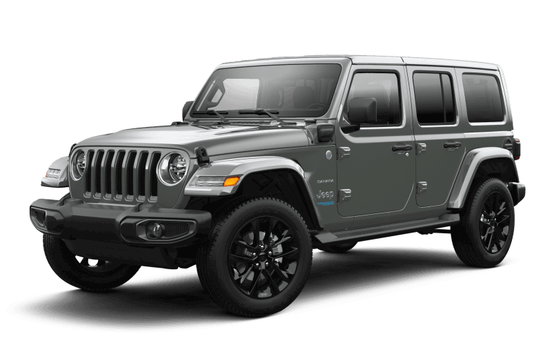 Jeep® Wrangler 4xe 2021 Unlimited Sahara - Sting-Grey