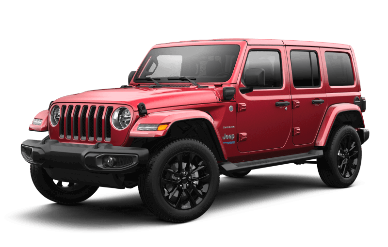 2021 Jeep® Wrangler 4xe Unlimited Sahara - Snazzberry Pearl