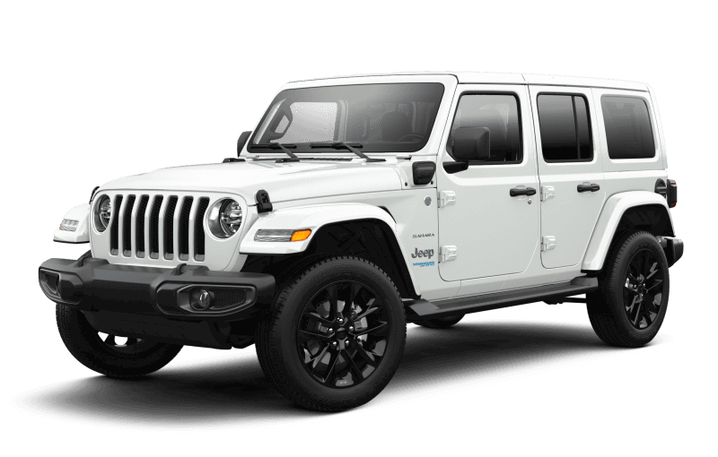 2021 Jeep® Wrangler 4xe Unlimited Sahara - Bright White