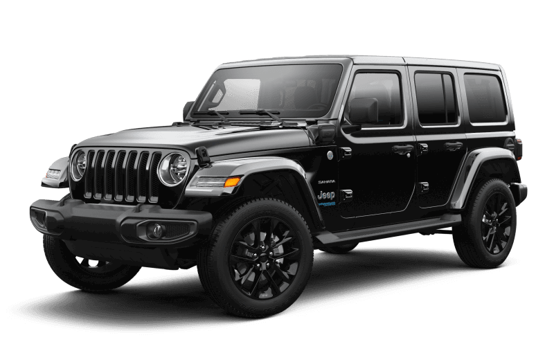 Jeep® Wrangler 4xe 2021 Unlimited Sahara - Noir