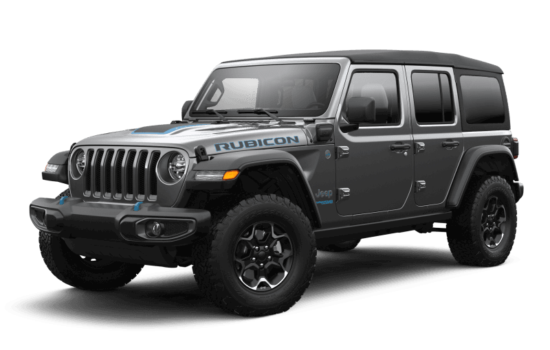 2021 Jeep® Wrangler 4xe Unlimited Rubicon 4xe - Granite Crystal