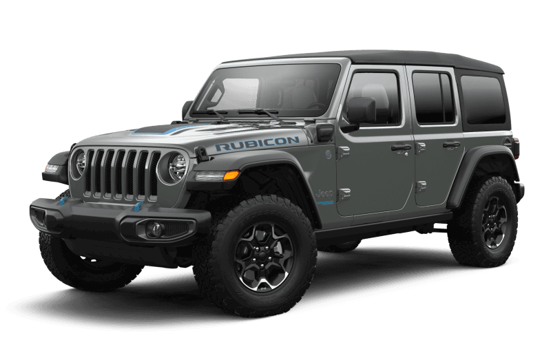 Jeep® Wrangler 4xe 2021 Unlimited Rubicon - Sting-Grey