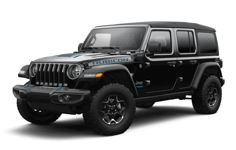Jeep® Wrangler 4xe 2021 Unlimited Rubicon - Noir
