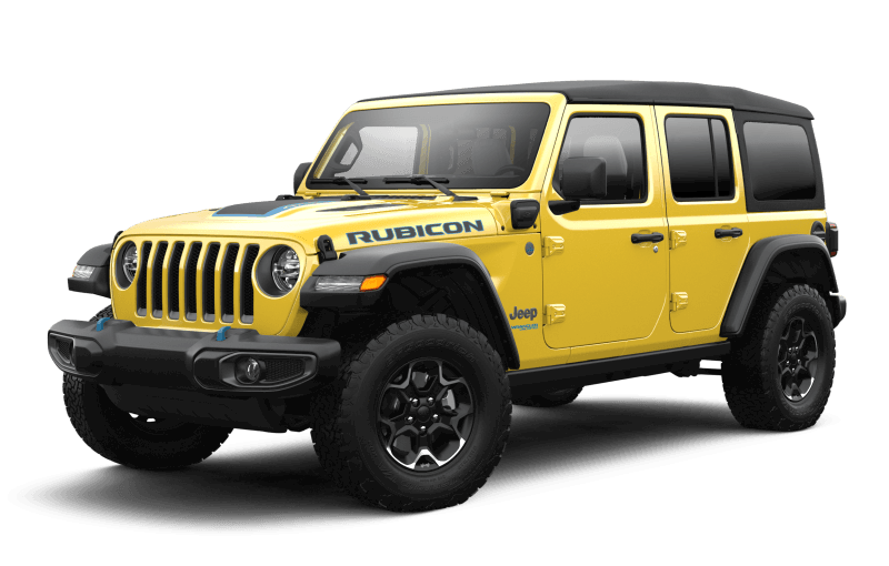 Jeep® Wrangler 4xe 2021 Unlimited Rubicon - Hellayella