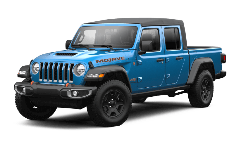 2021 Jeep® Gladiator Mojave - Hydro Blue Pearl