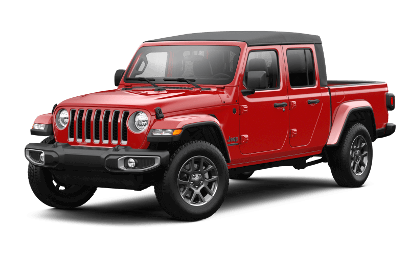 2021 Jeep® Gladiator 80th Anniversary Edition - Firecracker Red