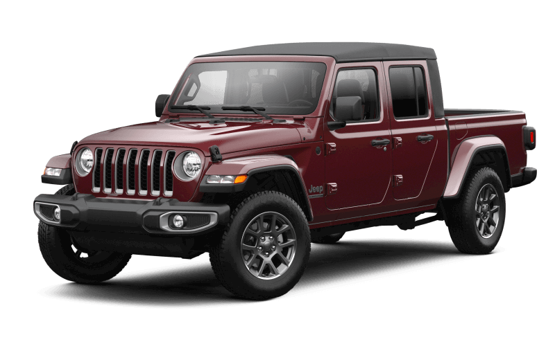 2021 Jeep® Gladiator 80th Anniversary Edition - Snazzberry