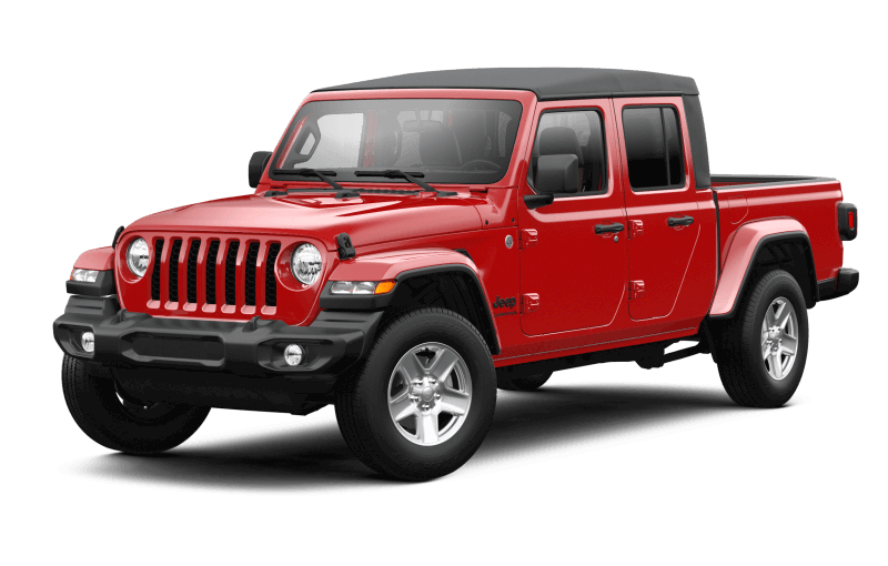 Jeep® Gladiator 2021 Sport S - Rouge pétard