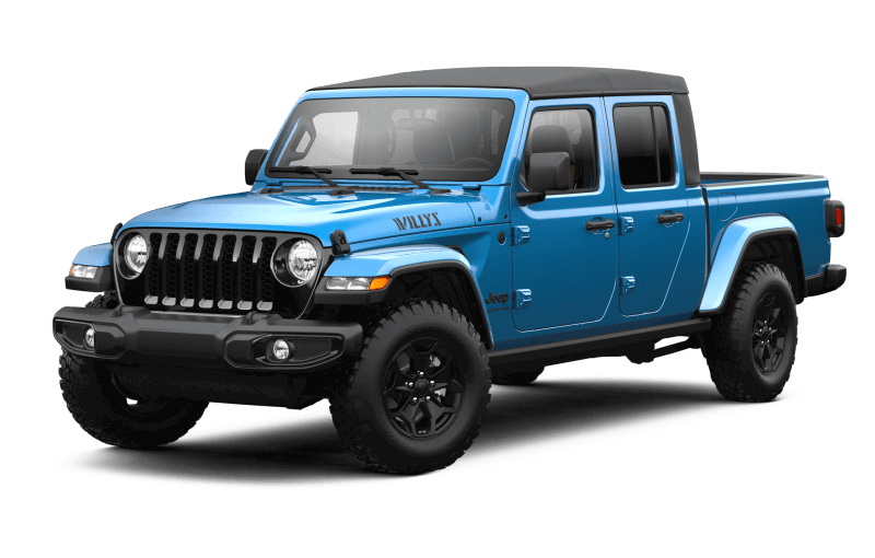2021 Jeep® Gladiator Willys - Hydro Blue Pearl