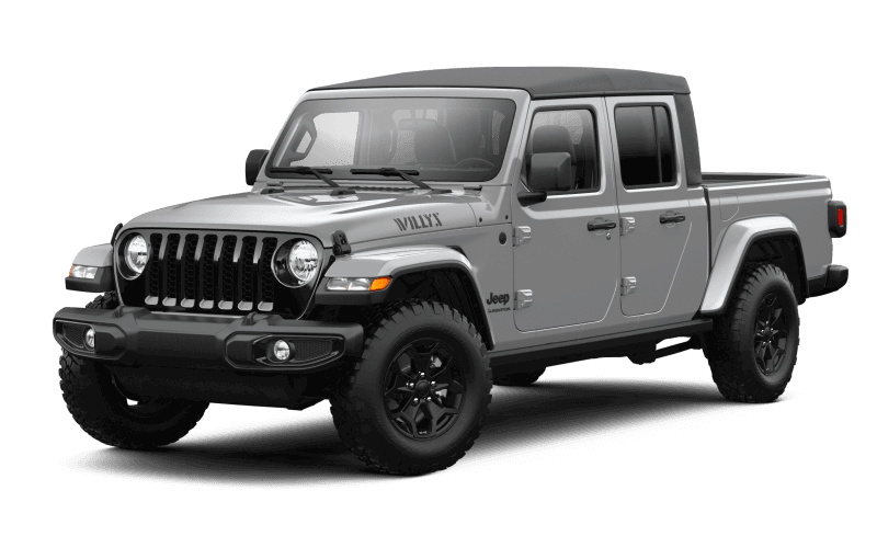 Jeep® Gladiator 2021 Willys - Gris raie