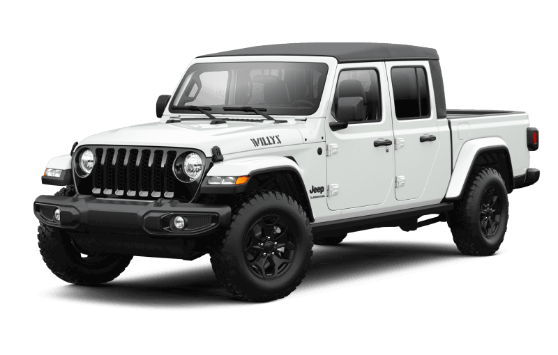 Jeep® Gladiator 2021 Willys - Blanc éclatant