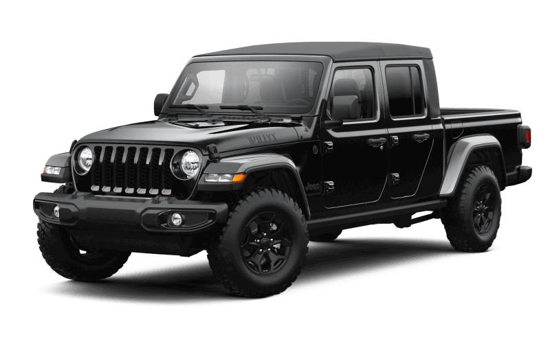 Jeep® Gladiator 2021 Willys - Noir
