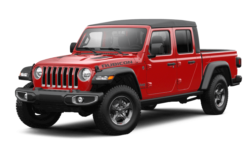 Jeep® Gladiator 2021 Rubicon - Rouge pétard