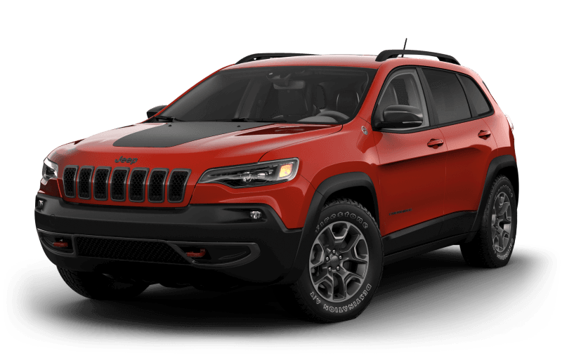 Jeep® Cherokee 2021 TrailhawkMD - Orange enflammé