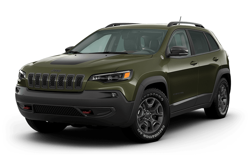 2021 Jeep® Cherokee Trailhawk® - Olive Green