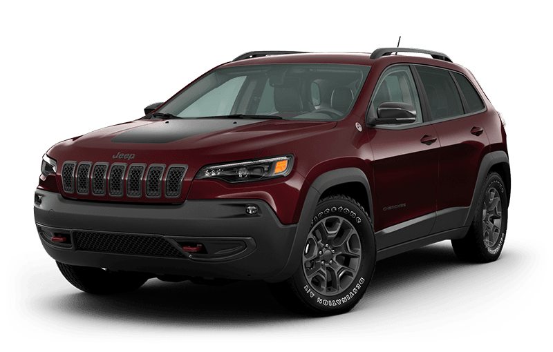 2021 Jeep® Cherokee Trailhawk® - Velvet Red Pearl