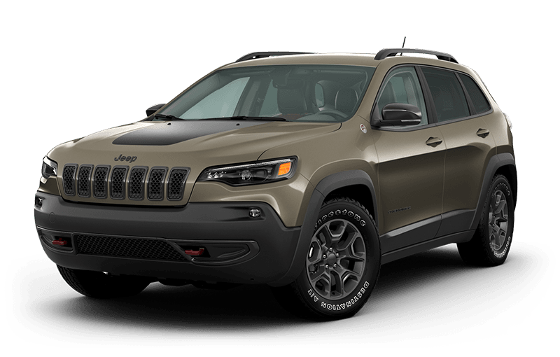 2021 Jeep® Cherokee Trailhawk® - Light Brownstone Pearl