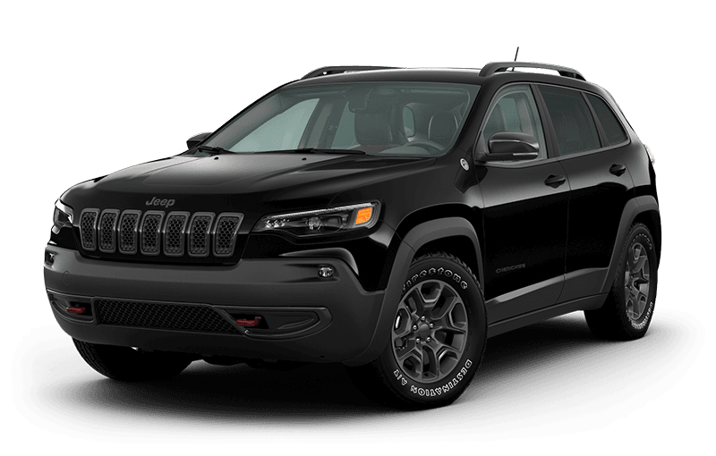 2021 Jeep® Cherokee Trailhawk® - Diamond Black Crystal Pearl