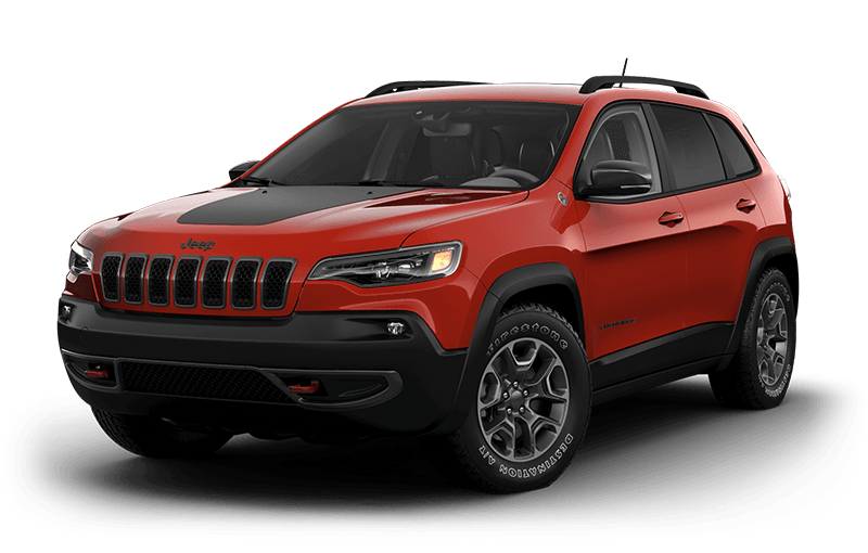 Jeep® Cherokee 2021 TrailhawkMD Elite - Orange enflammé