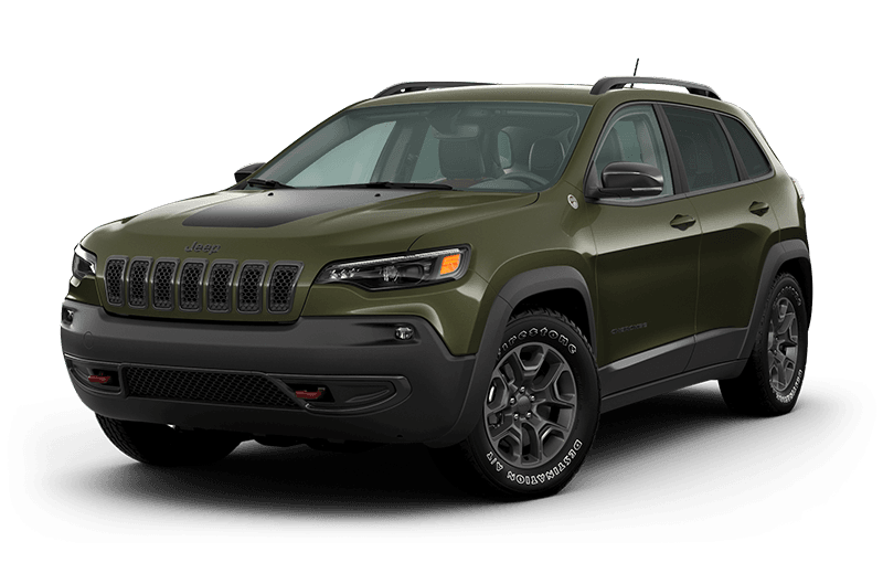 2021 Jeep® Cherokee Trailhawk® Elite - Olive Green