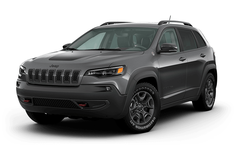 2021 Jeep® Cherokee Trailhawk® Elite - Billet Metallic