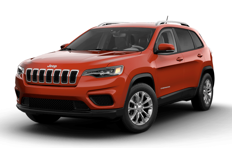 Jeep® Cherokee 2021 North - Orange enflammé