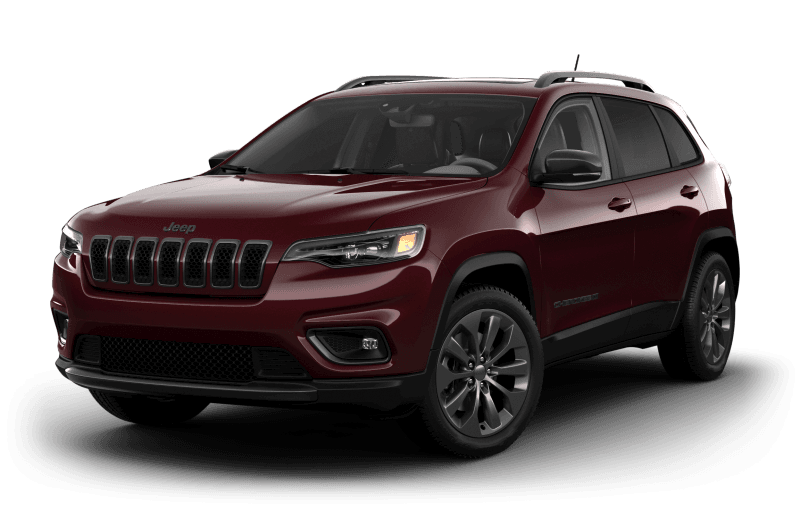 2021 Jeep® Cherokee 80th Anniversary Edition - Velvet Red Pearl