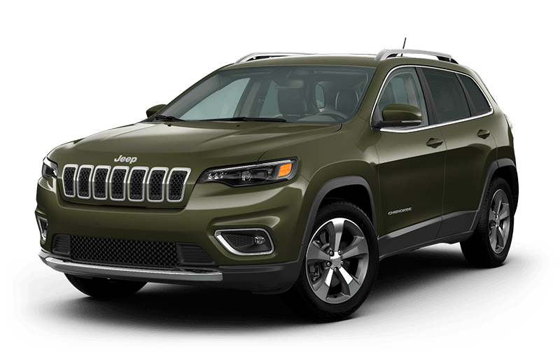 2021 Jeep® Cherokee Limited - Olive Green