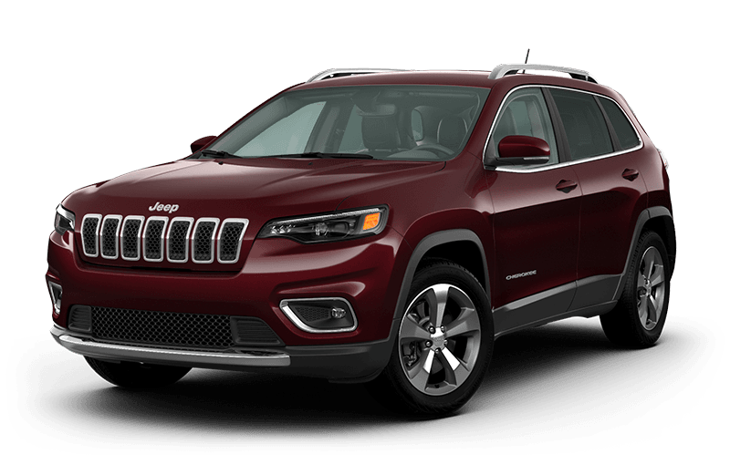 Jeep® Cherokee 2021 Limited - Couche nacrée rouge velours